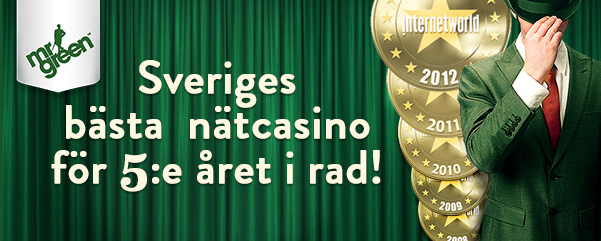 mrgreen best casino sverige