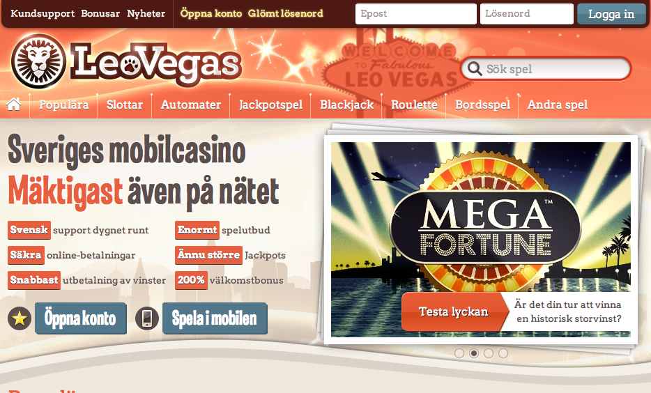 leovegas new site best mobile casino