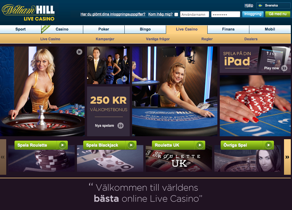 казино william hill