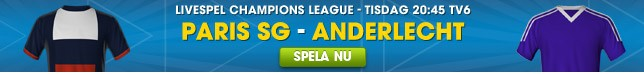 Spela live – Chamions Leauge – William Hill