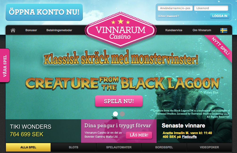 vinnarum best casinogames